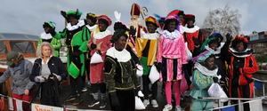 Intocht van Sinterklaas in Zwanenburg