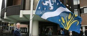 Nieuwe vlag nieuwe gemeente Haarlemmermeer