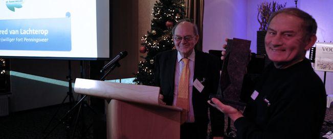 Vrijwilligersprijs 2015 voor Fred van Lachterop