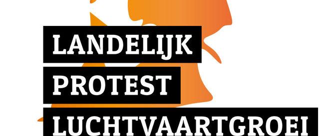Landelijk protest luchtvaartgroei op 23 juni 2018