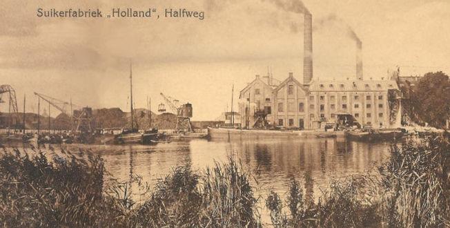 Suikerfabriek Holland Halfweg